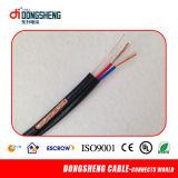 Rg59 cable coaxial siamés + cable de alimentación 2c para CCTV