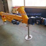 La maquinaria de construcción de cenizas volantes utiliza material transportador de tornillo de acero al carbono