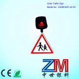 Signe de route de l'aluminium DEL/signal d'alarme de clignotement pour la sûreté de chaussée