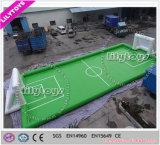 Belüftung-materieller bleifreier grüner aufblasbarer Fußball-Fußballplatz