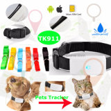 Водоустойчивые собака/кот Pets отслежыватель GPS с многофункциональным (TK911)