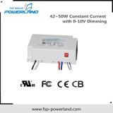 fonte de alimentação constante do diodo emissor de luz da corrente 42~50W com o 0-10V que escurece