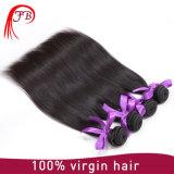 최신 판매 매끄러운 똑바른 처리되지 않은 100%년 Barzilian 머리 연장