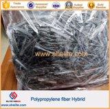 Fibrillated 섬유를 가진 합성섬유 꼬이는 유형