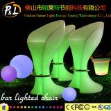 LEDによって照らされる家具のラウンジの家具屋外LEDのバケツの腰掛け