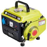 2.0HP 50Hz portátil generador de gasolina de 650W con asa
