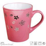 Tazza di ceramica di tono bello di colore due
