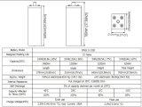 Opzs Série 2V1200ah da bateria com as placas tubulares para a tevê Appliation de Telecome/UPS/Railway/Security/Medical/Alarm/Cable