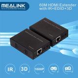 단 하나 Cat5e/6 (3D, IR, EDID)에 의하여 60m HDMI 증량제