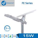 Instalación fácil IP65 todo en una lámpara solar del jardín de la luz de calle LED