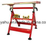 Lijst van het Lassen van de Werkbank van het Roestvrij staal van het Lassen van de hoogte de Regelbare Commerciële Vouwbare (yh-WB030)
