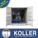 Малая машина блока льда емкости 1000kg/Day Containerized удобная для двигать