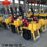 二重ドラムアスファルト油圧道ローラー機械の乗車