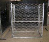 미국 큰 강철 체인 연결 옥외 개 Kennel/6FT 개 감금소