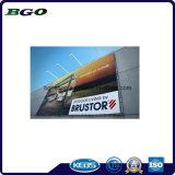 Знамя гибкого трубопровода холстины индикации выставки PVC Frontlit (840dx840d 9X9 440g)