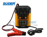 Suoer Intelligent Repair Mode 12V/24V 2A/4A/6.9A Digital Display Automatic Battery Charger (A02-1224B)