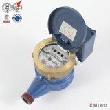 Счетчик воды дуктильного уплотнения прямого отсчета утюга пассивного светоэлектрического жидкостного беспроволочный дистанционный