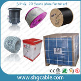 Qualité 75 ohms de câble coaxial de liaison 24patc 24vrtc 24vatc de TV satellite