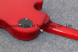Guitare électrique piquée par Lp 1959 d'érable de coutume première avec le grippement de rouge (GLP-532)