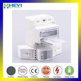 전기 미터 단일 위상 DIN 가로장 전자 에너지 미터에 의하여 선불되는 미터를 위한 리모트