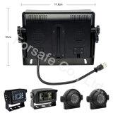 Systeem van de Camera van de Mening van de auto het Achter Waterdichte voor het Veilige Omkeren