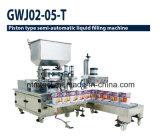 Machine de remplissage liquide de double tuyère à piston