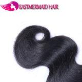卸し売り加工されていなく自然なボディ波のインド人の100%年のバージンの毛の拡張