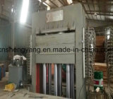 Aufbereiten Maschinerie-der heißen Presse-Maschine für Spanplatte