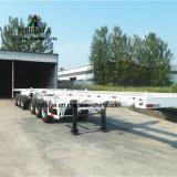 Doppeltes Schleppen-Behälter-Transport-Chassis-Skeleton LKW-Schlussteil