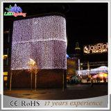 Wasserdichtes LED-Vorhang-Licht für Hotel-Wand-Dekoration