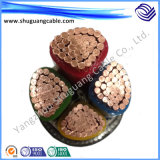 Elevadores eléctricos de fio de cobre XLPE isolamento PVC Non-Armored da bainha do cabo de alimentação