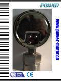 100mm de Olie van het Diafragma van 4 Duim - de gevulde Maat van de Druk met Al Aansluting van het Type van Materiaal en van de Bodem van het Roestvrij staal