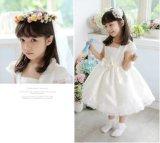 Маленькое платье венчания Princess Шнурка