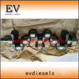 As peças do motor da escavadeira 4bd1 6bd1 4BD1T 6bd1T 6bg1 4bg1 Conjunto do Rolamento Principal do Virabrequim