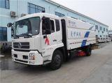 Dongfeng Tianjin 4X2 LHD 8m3 진공 청소 거리 도로 스위퍼 트럭