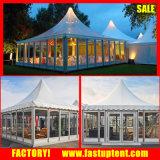 De Muur van het glas voor de Tent van de Pagode, Tenten