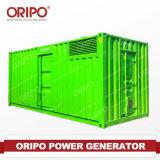 열려있는 Oripo 또는 Cummins Engine를 가진 침묵하는 디젤 엔진 발전기