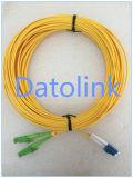 Duplex 2m LSZH 2.0mm da manutenção programada do cabo de remendo E2000/APC- E2000/APC