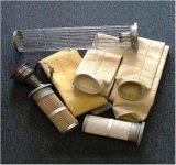Los filtros de mezcla asfáltica Nomex bolsas filtrantes con Nomex fieltro con aguja