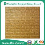 PE van de Milieubescherming van de binnenhuisarchitectuur de 3D Comités van de Sticker van het Document van de Muur van het Schuim