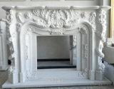 sulla mensola del camino o sul camino dell'oggetto d'antiquariato del marmo di vendita