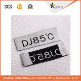 بوليستر يطبع علامة تجاريّة لباس داخليّ بطاقة طباعة لباس يحاك لاصق علامة مميّزة