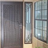 Дверь с защитной сеткой ковки чугуна обеспеченностью экстерьера исключительная изготовленный на заказ