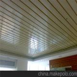 Panneau d'intérieur ignifuge de plafond suspendu de WPC 100*40mm