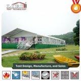 10X15m Luxury алюминиевая свадебное палатка с художественным оформлением