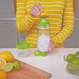 Фруктовый напиток бачка вливания творческих спортивных мероприятий на улице сок лимона