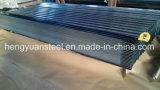 лист 0.125-0.8mm гофрированный Z30-275 гальванизированный стальной для плитки крыши