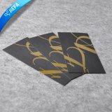 Горячий золотая фольга логотип торговой марки повесить Tag/бумага печать метки