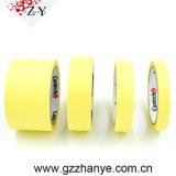 Nastro adesivo del nastro protettivo di migliore qualità gialla di Zhanye 333 forte