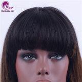 Parrucca piena del merletto dei capelli indiani del Virgin di colore del Brown Ombre con gli scoppi